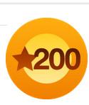 200 Likes :)